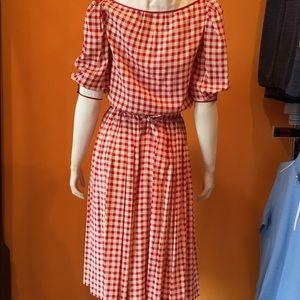 Nina Ricci Blouse and  skirt. Circa 1980. Size 4